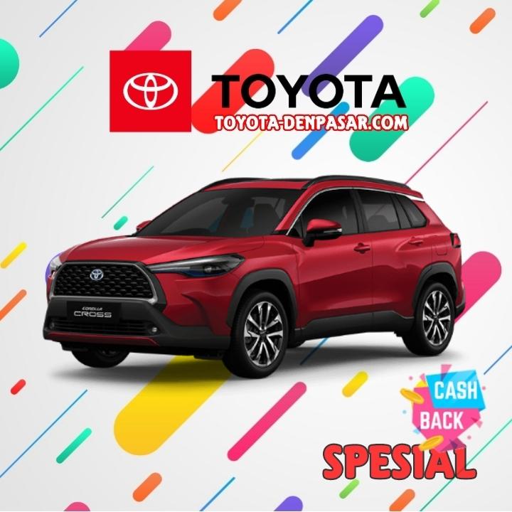 Toyota Denpasar - Lihat Spesifikasi All New Corolla Cross, Harga Toyota Corolla Cross Bali dan Promo Toyota Corolla Cross Bali terbaik hari ini.