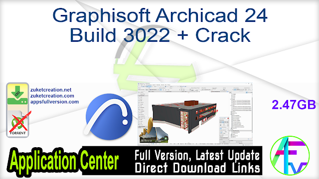 Graphisoft Archicad 24 Build 3022 + Crack