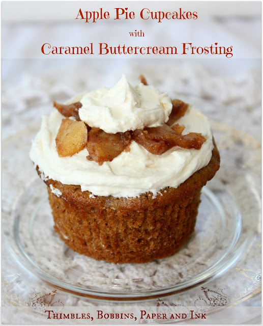 Apple Pie Cupcakes, Cupcake