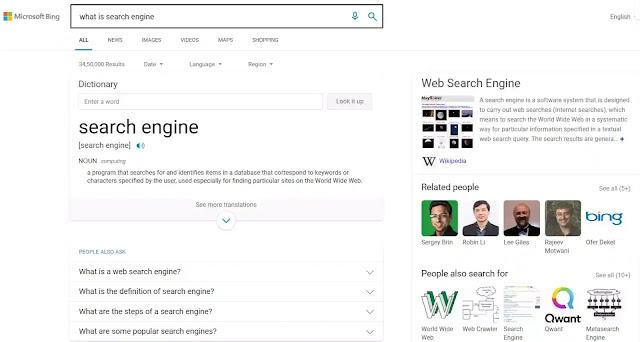 Microsoft Bing: Alternative of Google