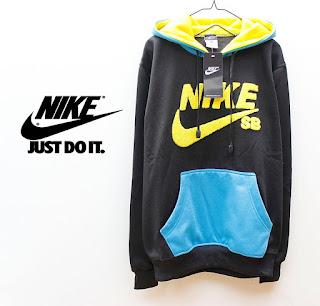 Jaket Fleece Hoodie - Nike NK011