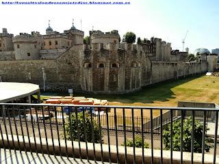 Fortificaciones de la Torre de Londres.