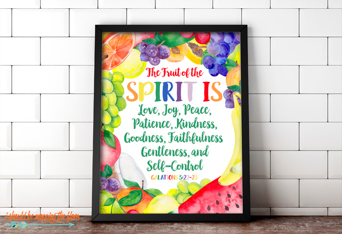Free Fruit of the Spirit Printables