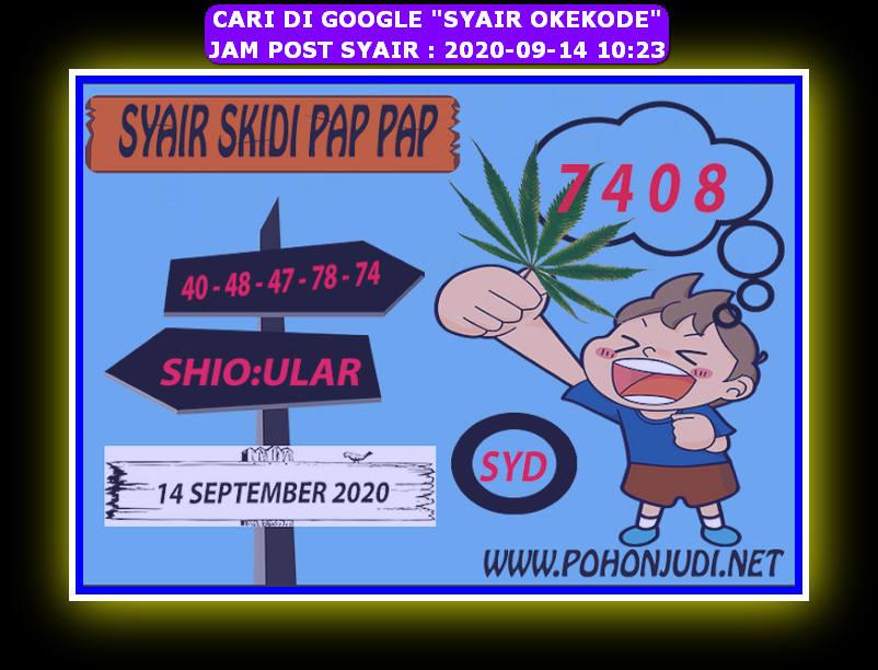 Kode syair Sydney Senin 14 September 2020 154