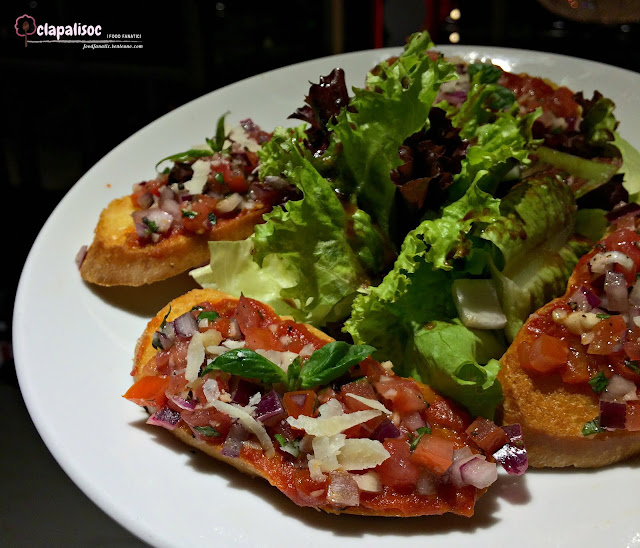 Bruschetta from Sugar Factory