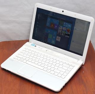 Laptop Design Sony Vaio VPCEG38EC Core i5 Bekas
