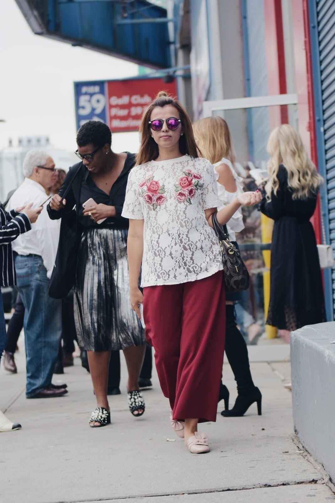 NYFW - Day 1| Spring/Summer 2018 Pamella Roland  by Mari Estilo