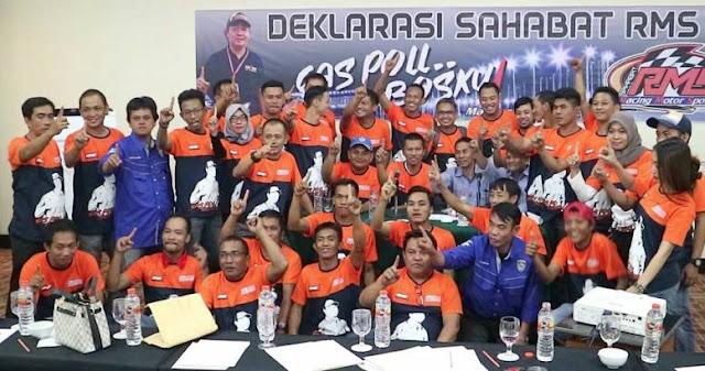 Sahabat Racing Motor Sport Deklarasikan Dorong RMS Maju di Pilgub Sulsel