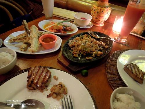 Set meal at KaLui Restaurant in Puerto Princesa City