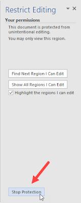 Cara Melindungi File Word Agar Tidak Diubah Orang Lain