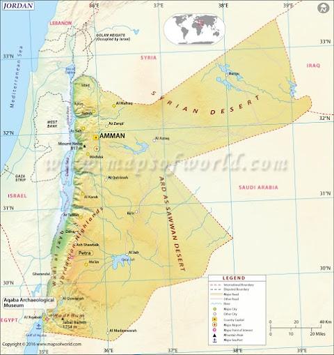 Jejak Islam di Yordania