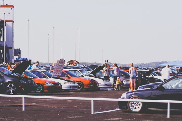 Lote de autos usados