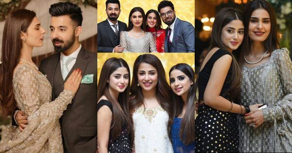 Awesome Clicks from Walima of Sadia Ghaffar and Hassan Hayat