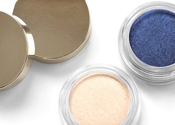 Clarins Ombre Matte Eyeshadows 09 Ivory 10 Midnight Blue Review
