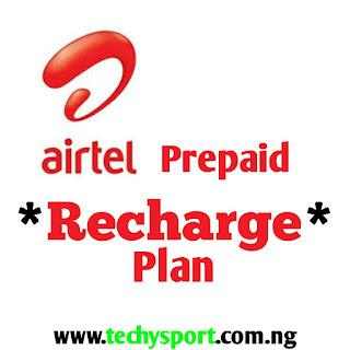 Airtel Prepaid Recharge Plan