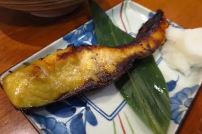 Keria Japanese Restaurant, saikyo buri