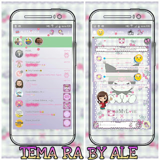 Kuromi Theme For YOWhatsApp & RA WhatsApp By Ale