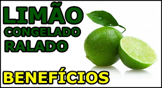 Benefícios do Limão congelado para saúde