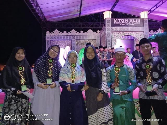 Prestasi Siswa MA Nurul Huda Pada MTQH XLIII