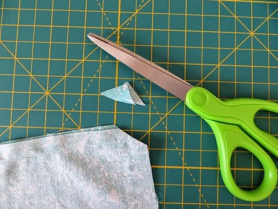 make an easy apron #creativegreenliving