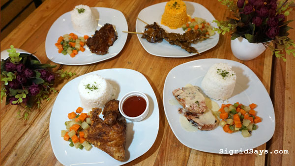 Squad Bistro - Bacolod restaurants - rice meals