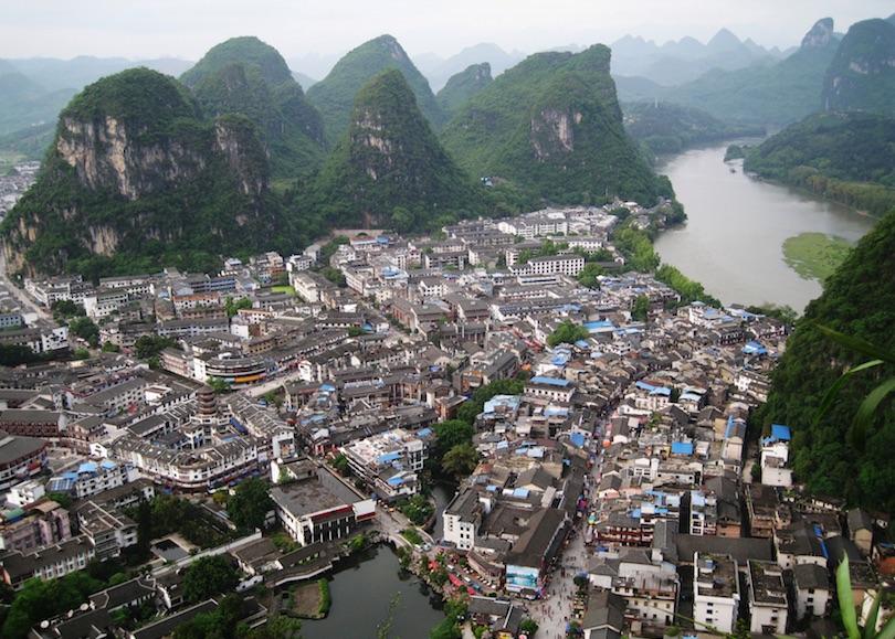 اجمل المدن الصغيرة في الصين