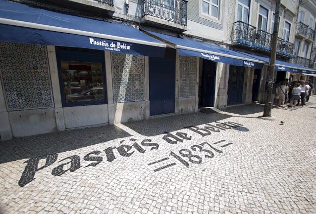 Pastéis de Belém-Lisbona