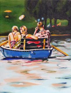 Drei im Boot Judith Reiter Muenchen