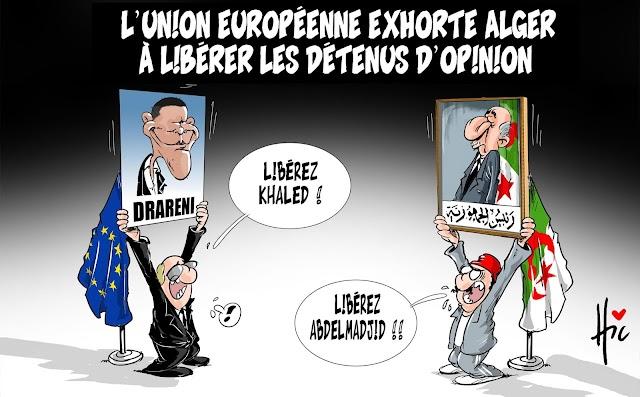 L'Union Européenne exhorte Alger à libérer les détenus d'opinion