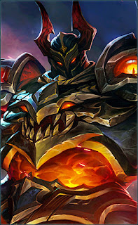 Tigreal Fallen Guard Heroes Tank of Skins