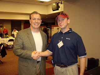 Stacy Mizrahi with Jimbo Fisher