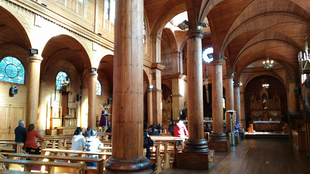 Iglesia de San Francisco de Castro, Isla Grande de Chiloé, Chile