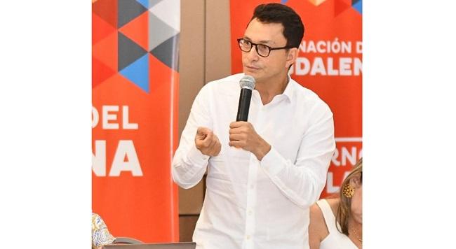 Gobernador Caicedo logra que el Magdalena sea seleccionado en el proyecto 'Tierra y Paz' de los Países Bajos