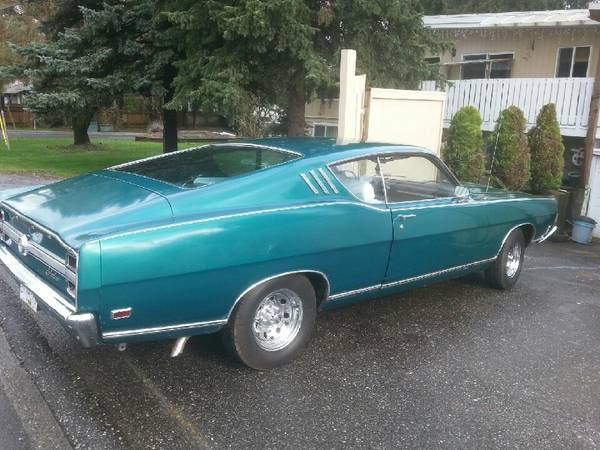 1969 Fairlane Fastback For Sale - Buy American Muscle Car