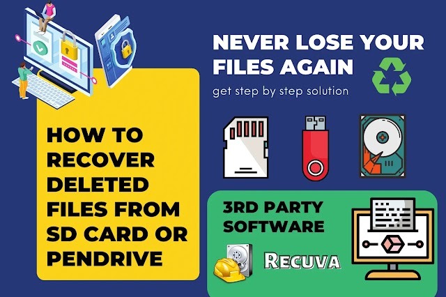 How To Recover Deleted Files From SD Card Or Pen Drive