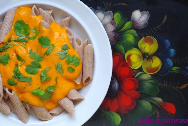 sos dyniowo-paprykowy - wege, dieta antyhistaminowa