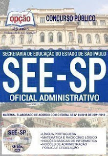 Download Apostila Concurso SEE SP 2019 PDF