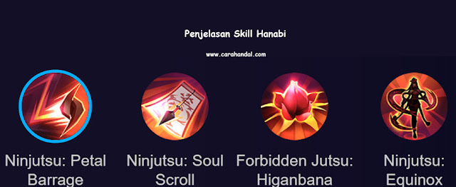Penejelasan Skill Hanabi