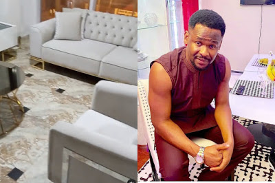 My Furniture in my house worth 6.3 million- Actor Zubby says (watch video)