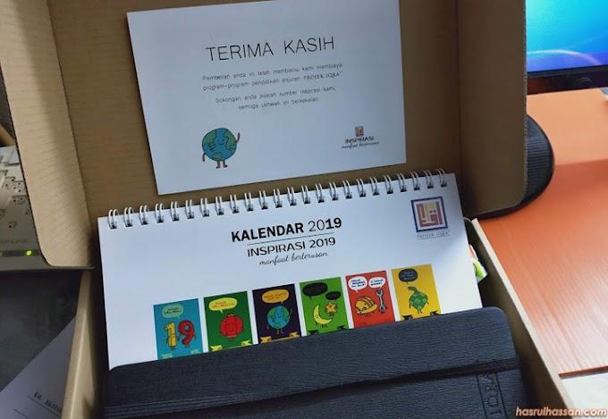 Kotak Inspirasi 2019 Projek Iqra' - Beli Sambil Menyumbang Amal