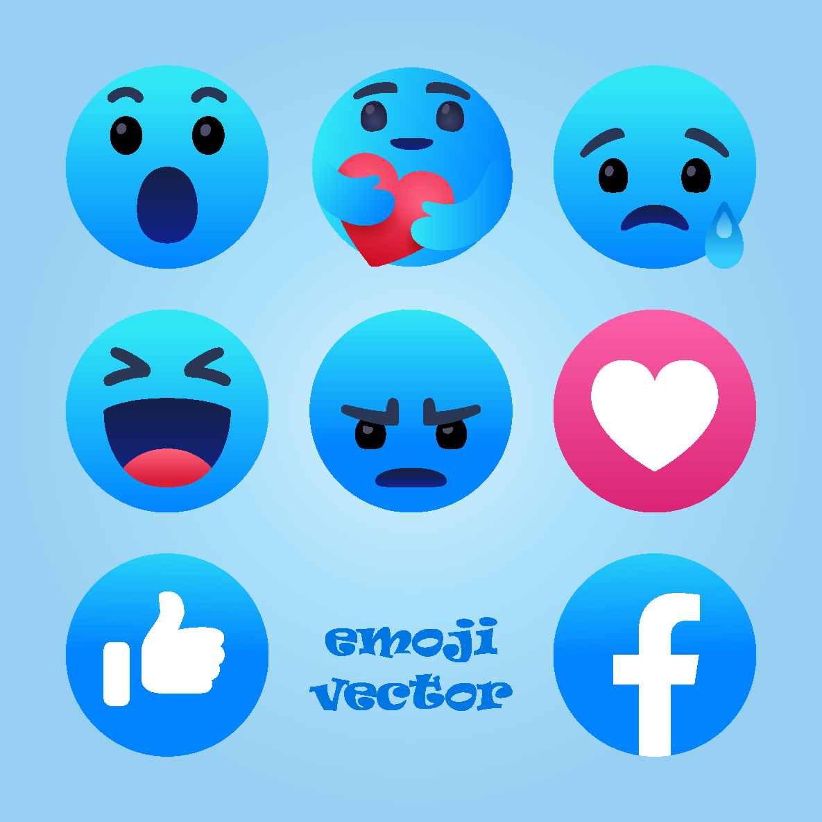 emoji icons vector svg eps ai png psd color free download #facebook #emoji #emojis #emoticons #like #graphics #happy #coreldraw #graphicdesign #love #heart #vectorartist #svg #vectorart #graphic #illustrator #icon #icons #vector #design #eps #designer #logo #logos #photoshop #button #buttons #freepik #illustration #socialmedia