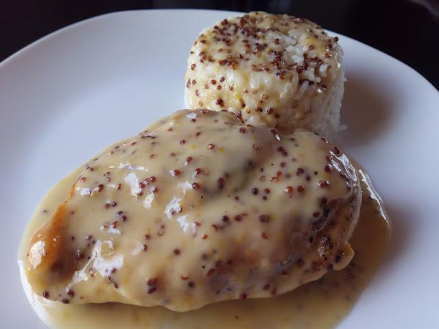 pechugas de pollo a la mostaza y miel