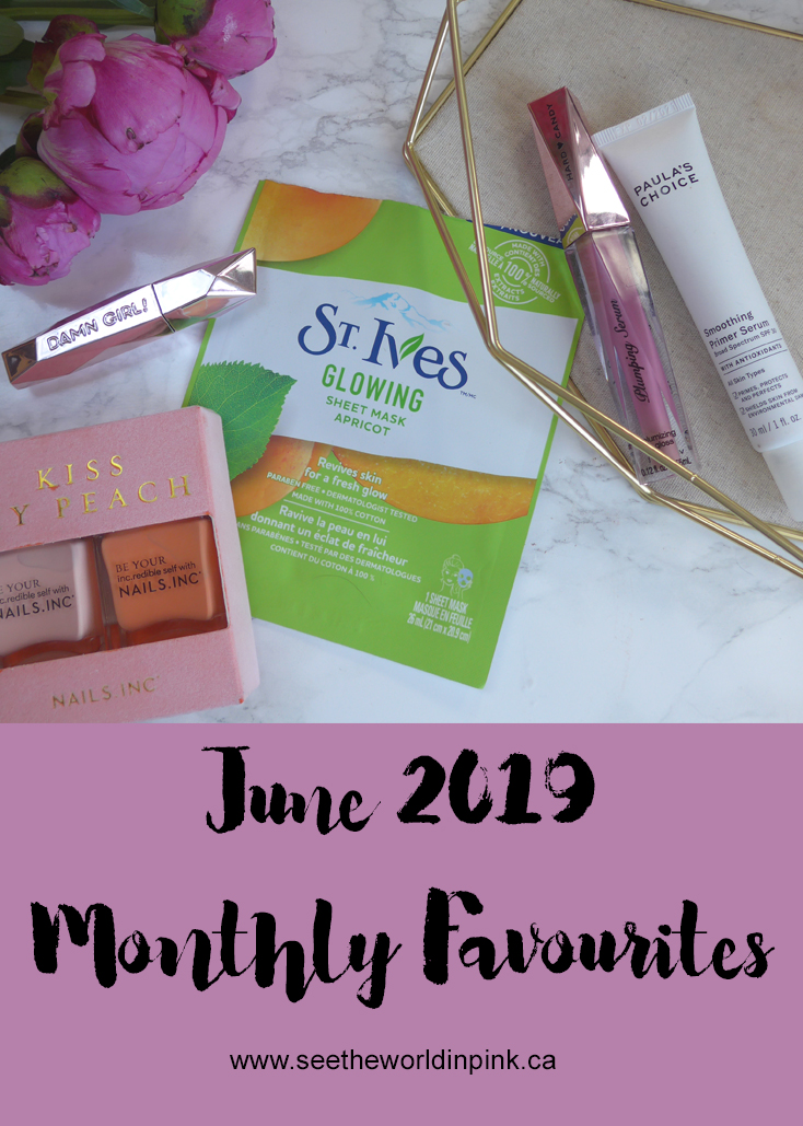 June 2019 - Monthly Favourites!