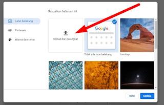 Cara Mengganti Tema Google Chrome Laptop atau PC