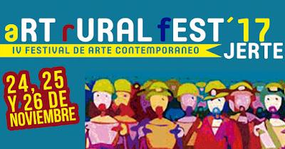 """IV Festival de Arte Contemporáneo """"Art-Rural Fest"""" (24 a 26 noviembre 2017, Jerte)"""