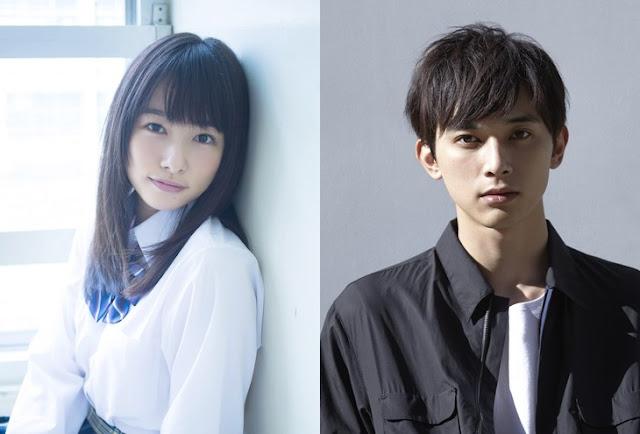 Hinako Sukurai dan Ryo Yoshizawa  Movie Live-Action Jepang : Marmalade Boy