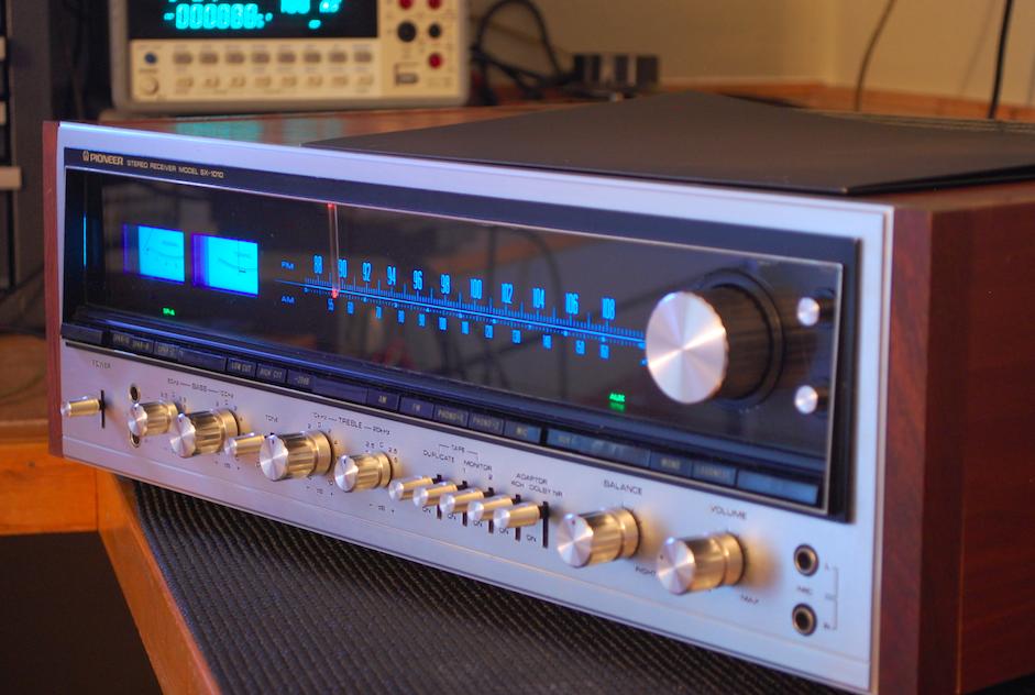 Vintage Hi-Fi Audio Restorations: Andrew's Pioneer SX-1010