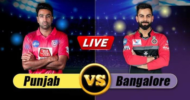 VIVO IPL 2019 Match 28 KXIP vs RCB Live Score and Full Scorecard