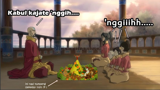 Avatar The Legedn Of Korra Nasi Tumpeng Hajatan
