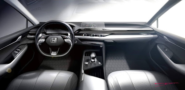 Novo Honda Civic 2022 - interior